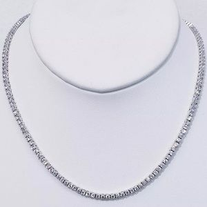 Other - 3mm White Gold Tennis Chain